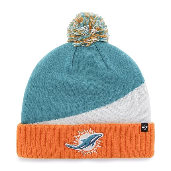 Miami Dolphins Rockhead Cuff Knit Neptune 47 Brand Hat