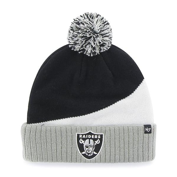 Oakland Raiders Rockhead Cuff Knit Black 47 Brand Hat