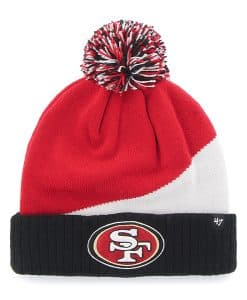 San Francisco 49Ers Rockhead Cuff Knit Red 47 Brand Hat
