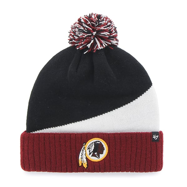 Washington Redskins Rockhead Cuff Knit Black 47 Brand Hat