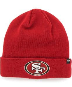 San Francisco 49Ers Recluse Cuff Knit Red 47 Brand Hat