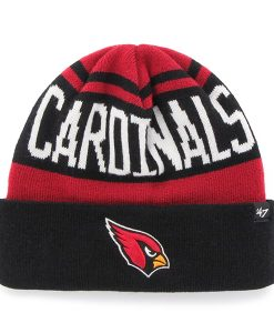 Arizona Cardinals Rift Cuff Knit Dark Red 47 Brand Hat