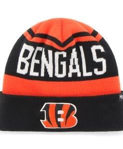Cincinnati Bengals Rift Cuff Knit Orange 47 Brand Hat