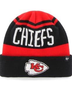 Kansas City Chiefs Rift Cuff Knit Torch Red 47 Brand Hat