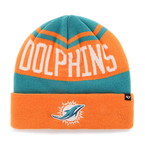 Miami Dolphins Rift Cuff Knit Neptune 47 Brand Hat