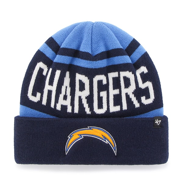 San Diego Chargers Rift Cuff Knit Light Navy 47 Brand Hat