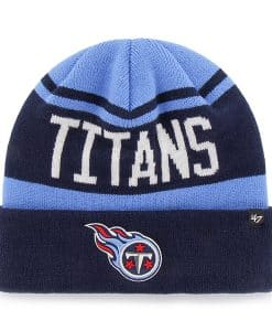 Tennessee Titans Rift Cuff Knit Periwinkle 47 Brand Hat