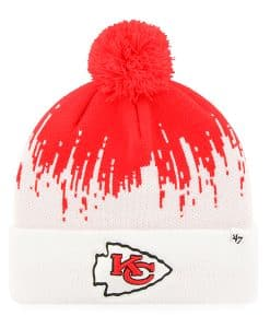 Kansas City Chiefs Riser Cuff Knit Torch Red 47 Brand Hat
