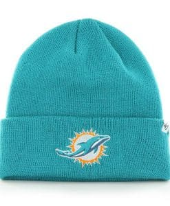 Miami Dolphins Raised Cuff Knit Neptune 47 Brand Hat