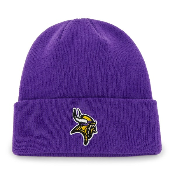 Minnesota Vikings Raised Cuff Knit Purple 47 Brand Hat