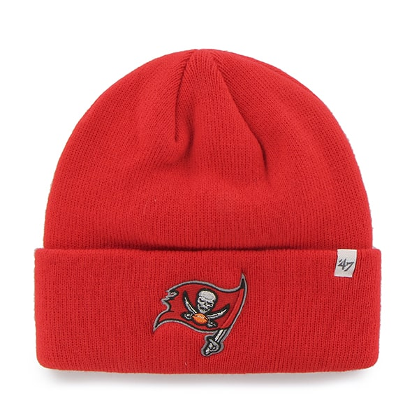 994b70046 Tampa Bay Buccaneers Raised Cuff Knit Torch Red 47 Brand Hat - Detroit Game  Gear
