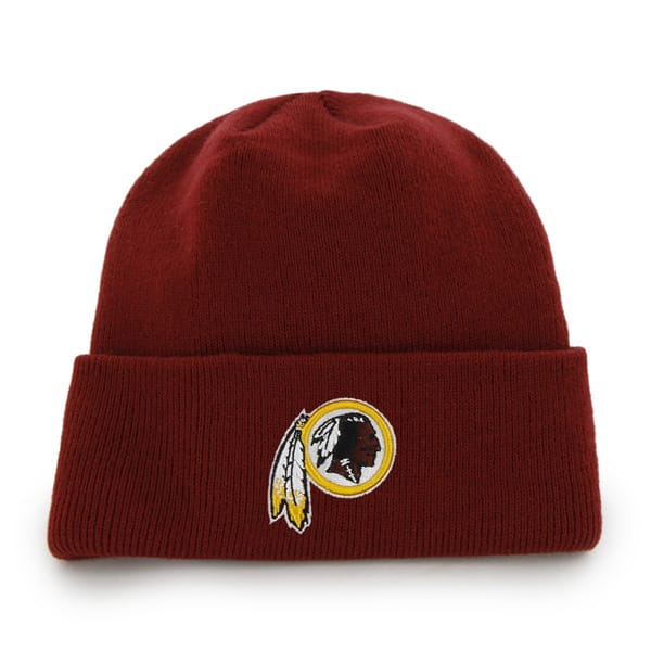 Washington Redskins Raised Cuff Knit Razor Red 47 Brand Hat