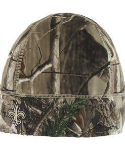 New Orleans Saints Realtree Fleece Beanie Realtree 47 Brand Hat
