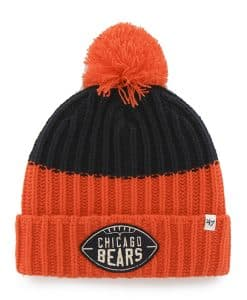Chicago Bears Founder Cuff Knit Navy 47 Brand Hat