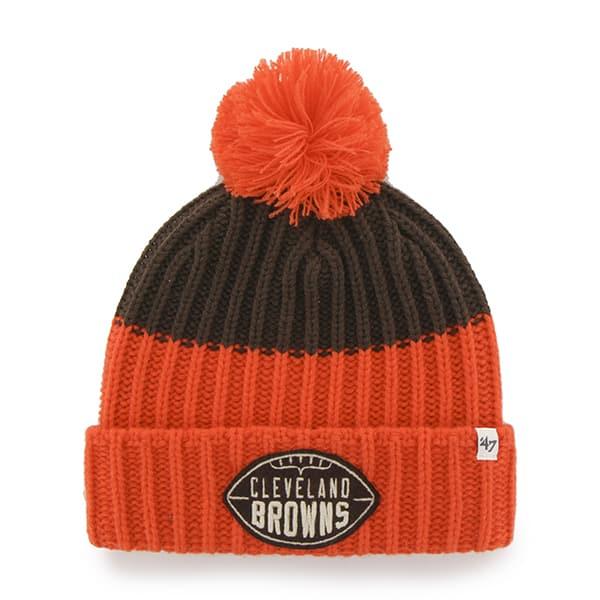Cleveland Browns 47 Brand Brown Founder Cuff Knit Hat