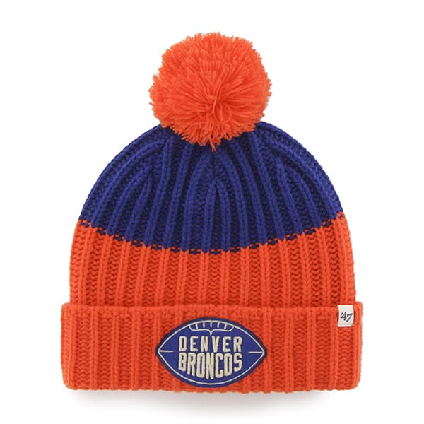 Denver Broncos Founder Cuff Knit Royal 47 Brand Hat