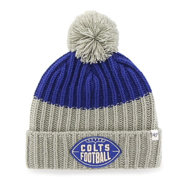 Indianapolis Colts Founder Cuff Knit Royal 47 Brand Hat