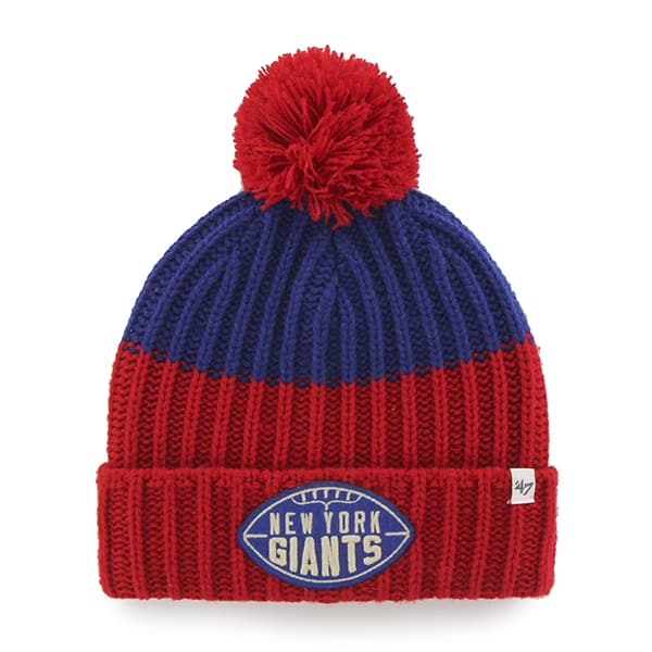 New York Giants Founder Cuff Knit Royal 47 Brand Hat