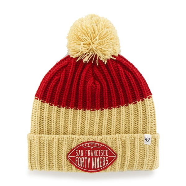 San Francisco 49Ers Founder Cuff Knit Red 47 Brand Hat