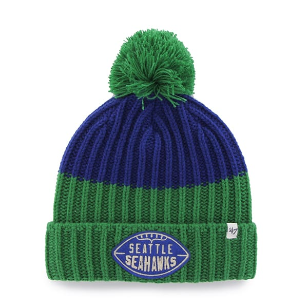 Seattle Seahawks Founder Cuff Knit Royal 47 Brand Hat