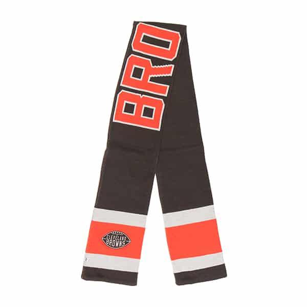 Cleveland Browns Rushfield Scarf Brown 47 Brand
