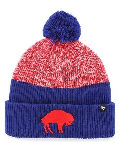 Buffalo Bills Backdrop Cuff Knit Royal 47 Brand Hat