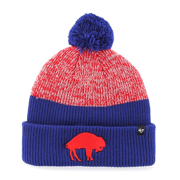 Buffalo Bills Backdrop Cuff Knit Royal 47 Brand Hat