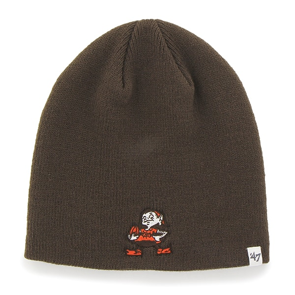 Cleveland Browns 47 Brand Classic Brown Beanie Hat