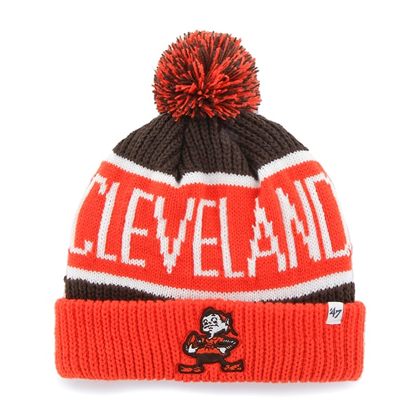 Cleveland Browns Calgary Cuff Knit Brown 47 Brand Hat