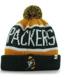 4d8627fbc Green Bay Packers Calgary Cuff Knit Cheddar 47 Brand Hat