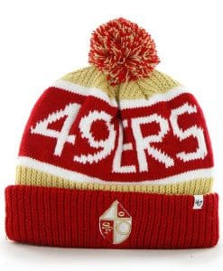 San Francisco 49Ers Calgary Cuff Knit Light Gold 47 Brand Hat