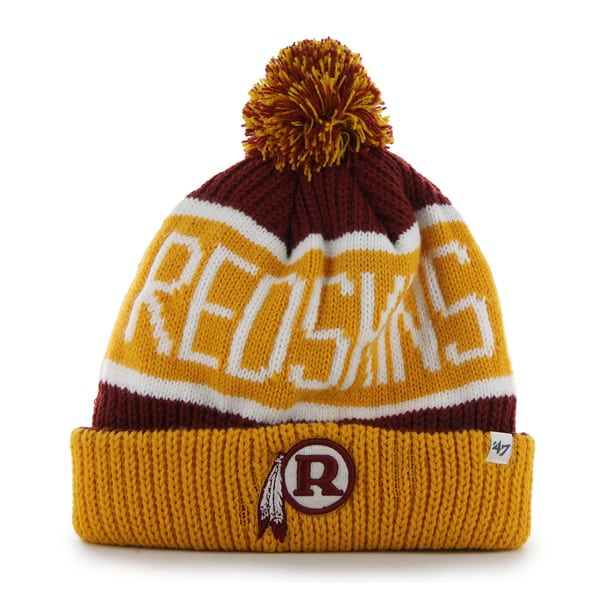 Washington Redskins Calgary Cuff Knit Razor Red 47 Brand Hat