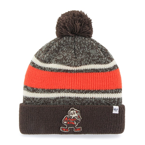 Cleveland Browns 47 Brand Brown Fairfax Cuff Knit Hat