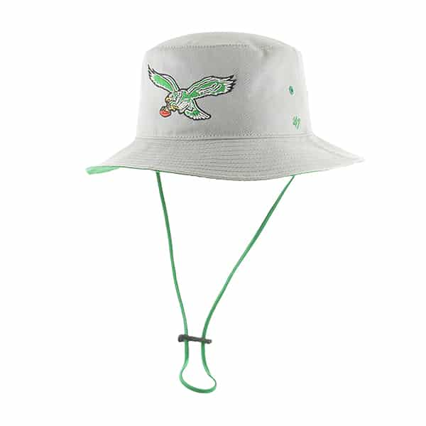 e77743710 Philadelphia Eagles Kirby Bucket Gray 47 Brand Hat - Detroit Game Gear