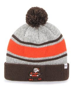 Cleveland Browns Palmer Cuff Knit Gray 47 Brand Hat