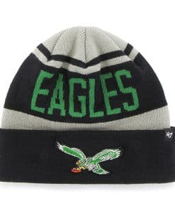 Philadelphia Eagles Rift Cuff Knit Gray 47 Brand Hat