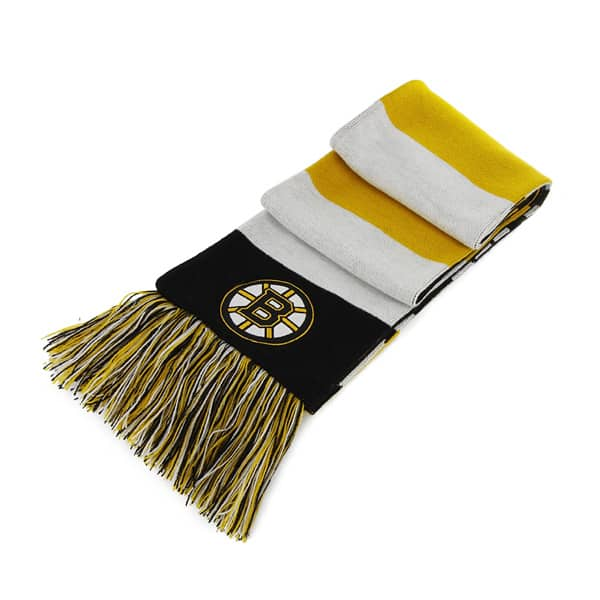 Boston Bruins Baker Scarf Black 47 Brand