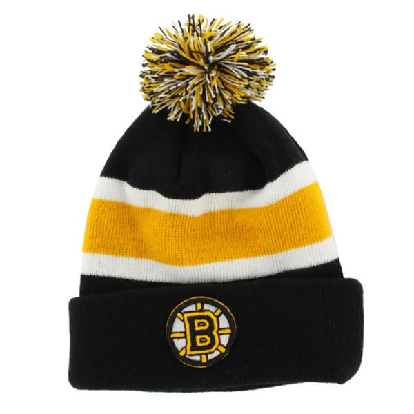 Boston Bruins Breakaway Cuff Knit Black 47 Brand Hat