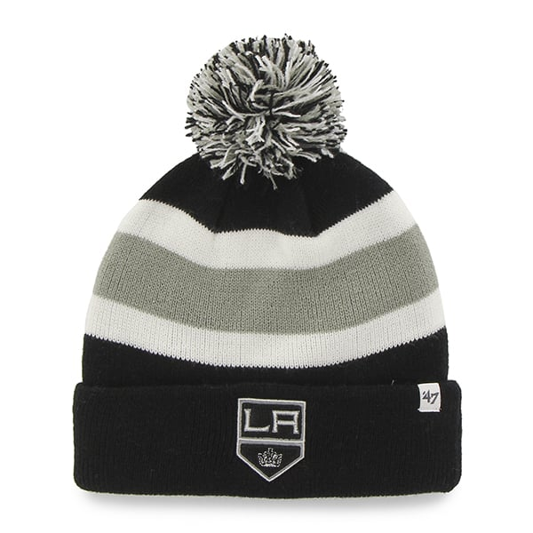 Los Angeles Kings Breakaway Cuff Knit Black 47 Brand Hat