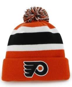 Philadelphia Flyers Breakaway Cuff Knit Orange 47 Brand Hat