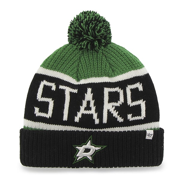 Dallas Stars Calgary Cuff Knit Kelly 47 Brand Hat