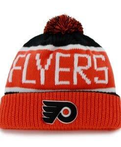 Philadelphia Flyers Calgary Cuff Knit Black 47 Brand Hat