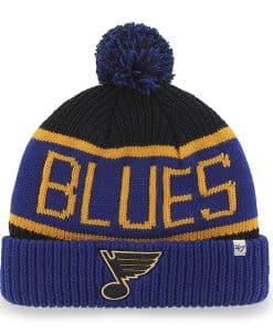 St Louis Blues Calgary Cuff Knit Navy 47 Brand Hat
