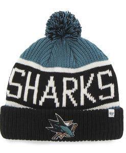 San Jose Sharks Calgary Cuff Knit Dark Teal 47 Brand Hat