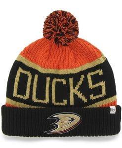 Anaheim Ducks Calgary Cuff Knit Orange 47 Brand Hat