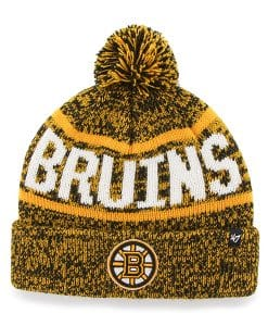 Boston Bruins Northmont Cuff Knit Black 47 Brand Hat