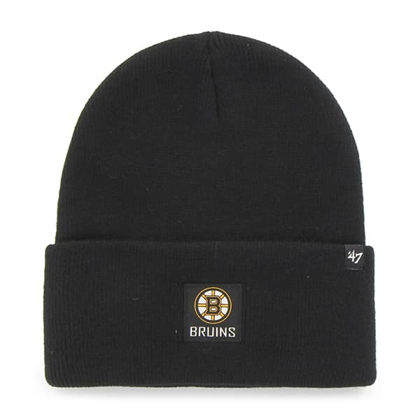 Boston Bruins Portbury Cuff Knit Black 47 Brand Hat