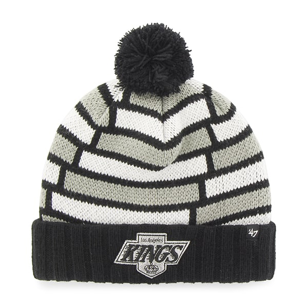 Los Angeles Kings Breakout Cuff Knit Black 47 Brand Hat