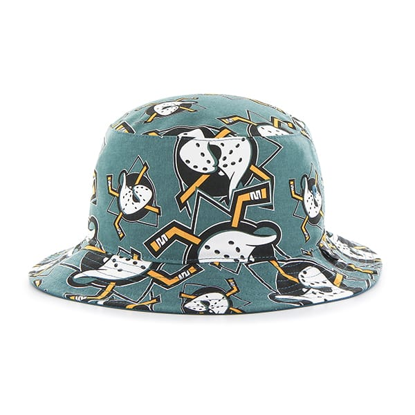 Anaheim Ducks Bravado Bucket White 47 Brand Hat
