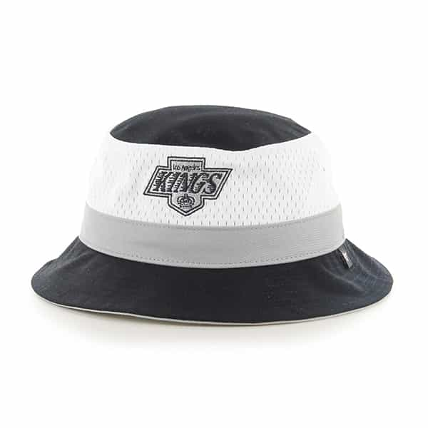 Los Angeles Kings Double Line Bucket Black 47 Brand Hat